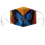 Blue Morpho Custom Face Mask