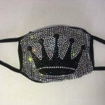 Crown Bling Custom Face Mask